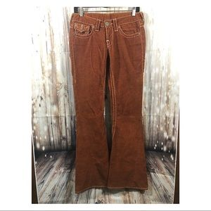 True Religion Joey Big T Corduroy Flare
